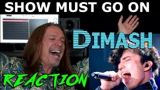 Vocal Coach Reaction to Dimash - The Show Must Go On - Queen - Freddie Mercury - Ken Tamplin