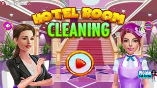 """Hotel Room Cleaning Games """"casual Games"""" Android Gameplay Video"""