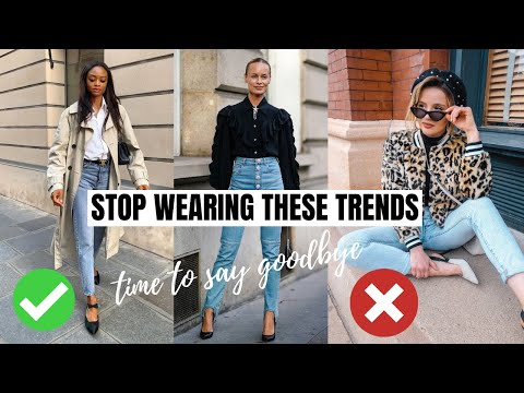 6 Fashion Trends That Are Over In 2021