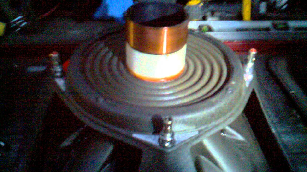 how to fix a blown speaker voice coil