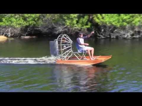 Mini Airboat Youtube