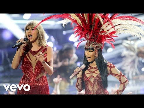 Nicki Minaj & Taylor Swift  Trini Dem Girls, The Night Is Still Young, Bad Blood MTV VMAs  2015