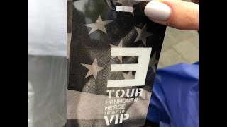 Gifts giving to Eminem concert's VIP guests