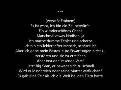 Eminem - Walk On Water ft. Beyoncé [Deutsche Übersetzung / German Lyrics]