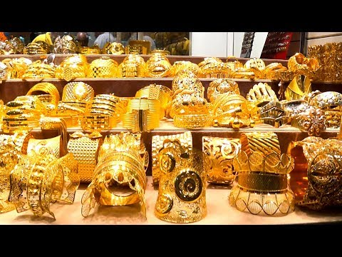 Дубай  Наш поход на  Золотой рынок  Шопинг
