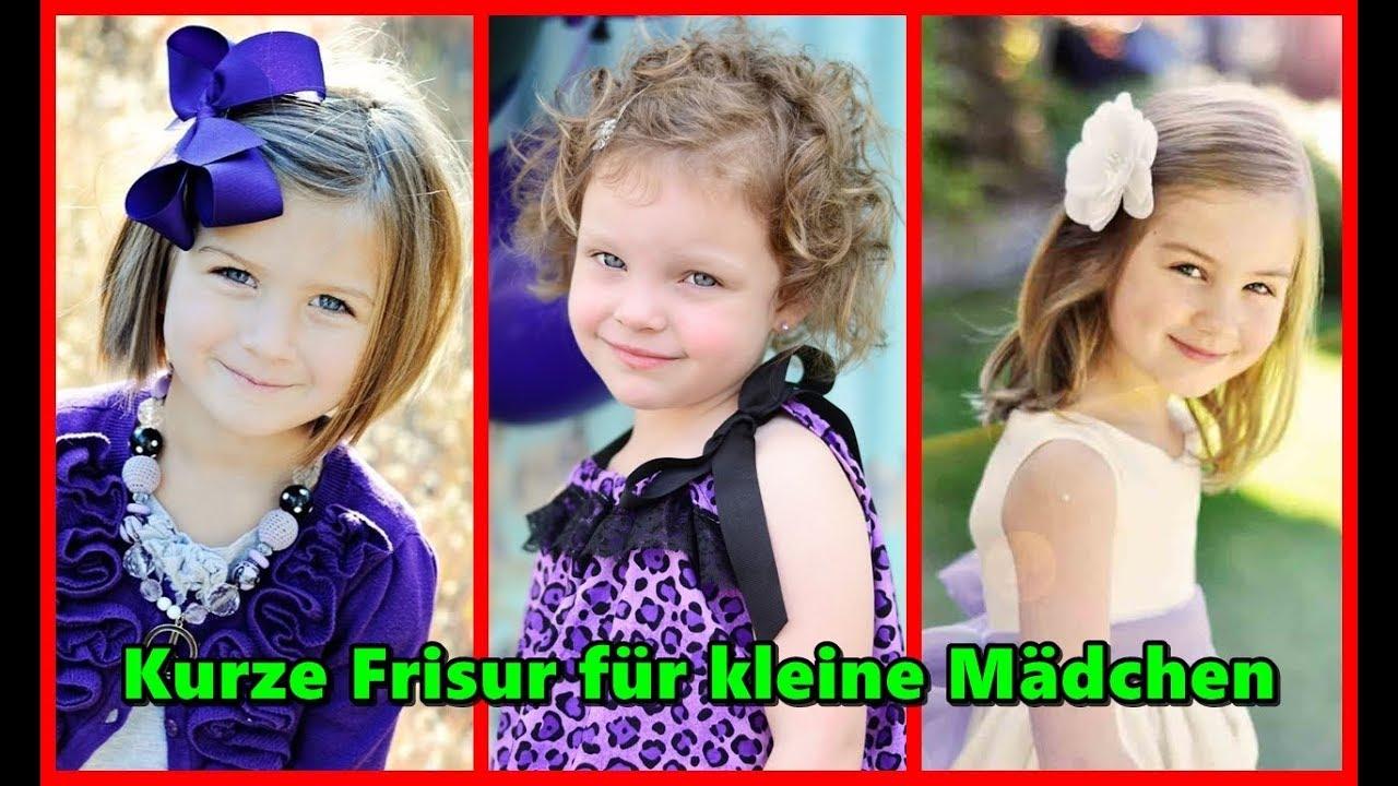Kurze Frisur für kleine Mädchen