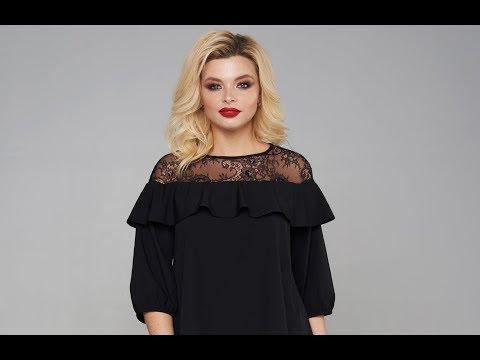 Блузка Мари-Лайн 1886 черный