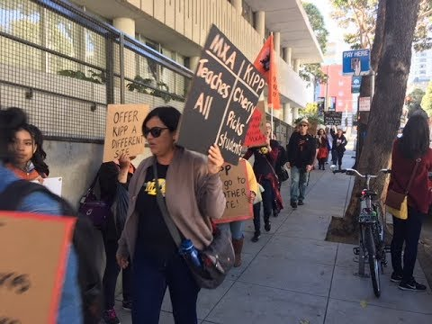 SF KIPP Breaking  Up Malcom X Academy: Racist Union Busting  Fisher Charter In SF Approved By SFUSD