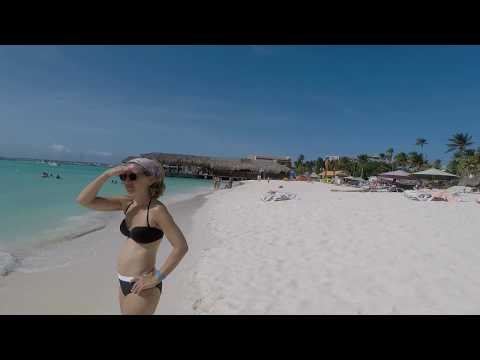 Aruba Palm Beach 15th August 2017 | GoPro Hero 5 with Karma Grip