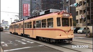 広島電鉄 350形・570形・750形・1150形・3000形・5100形など 宇品港周辺 2018.1-2