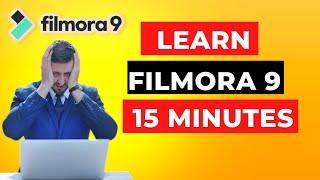 Filmora9 Tutorial - The ULTIMATE Guide For BEGINNERS