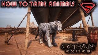 CONAN EXILES HOW TΟ TAME ANIMALS - HOW TO TAME PETS