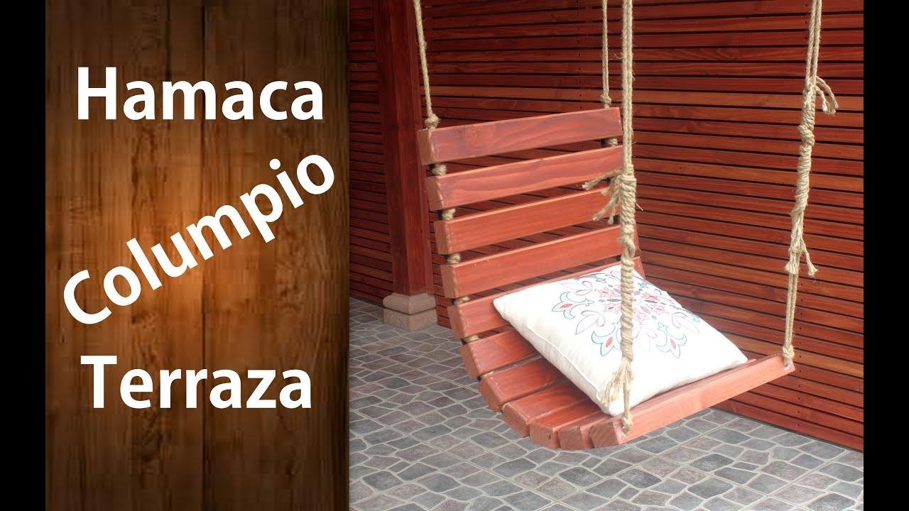 Columpio de madera para jardin recicladochallenge youtube - Columpio madera jardin ...