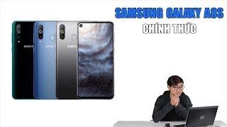 Samsung Galaxy A8S chính thức: Màn hình nốt ruồi Infinity-O, CPU Snapdragon 710, giá khoảng 490USD