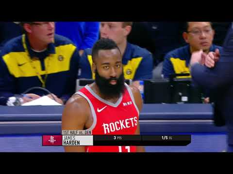 Houston Rockets vs Denver Nuggets | November 13, 2018