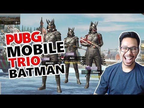 download TRIO BATMAN SAPU BERSIH ERANGLE - PUBG MOBILE INDONESIA