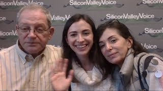 Тестируем вещание с нового лэптопа - у нас гости: Марина Могилко и ее мама Светлана из Питера