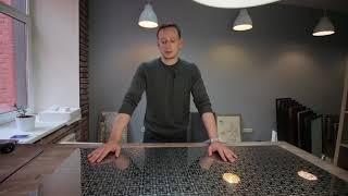 Узорная нержавеющая сталь - обзор материала для дизайна