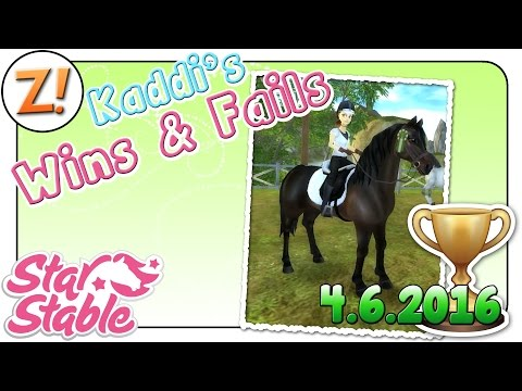 Star Stable [SSO]: Kaddi's Wins & Fails [04.06.2016] | Let's Play ♥ [GER/DEU]