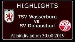 TSV 1880 Wasserburg gg.  SV Donaustauf I Highlights I löwenTV