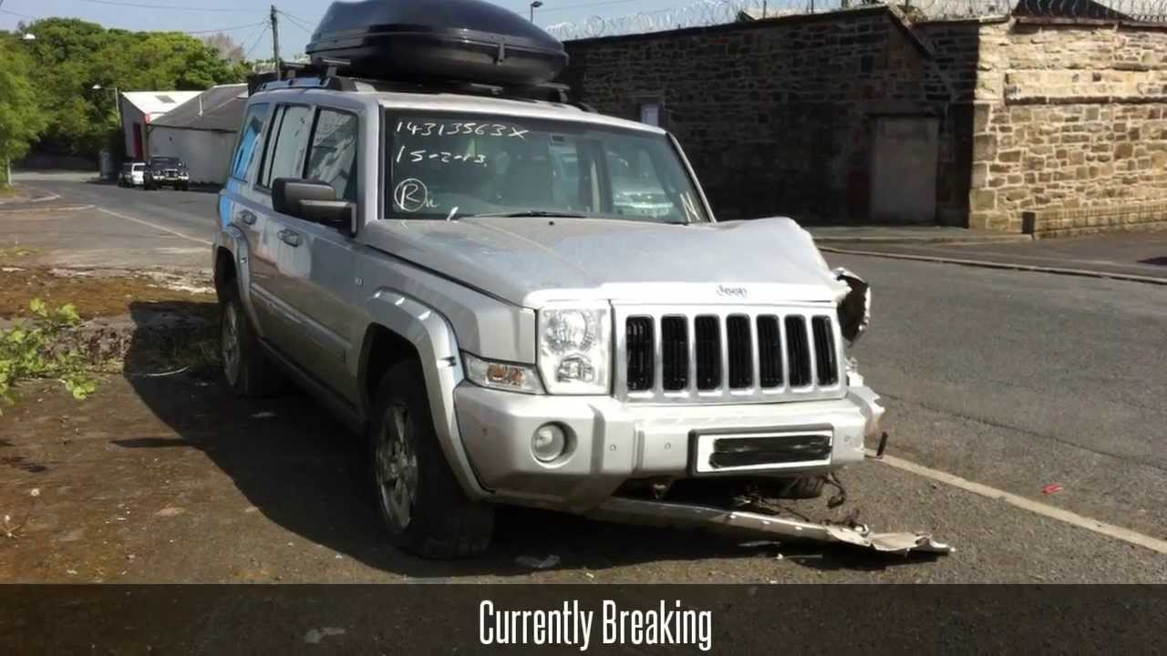 Jeep Commander 2006 Limited 3 0 Auto Breaking For Parts Youtube