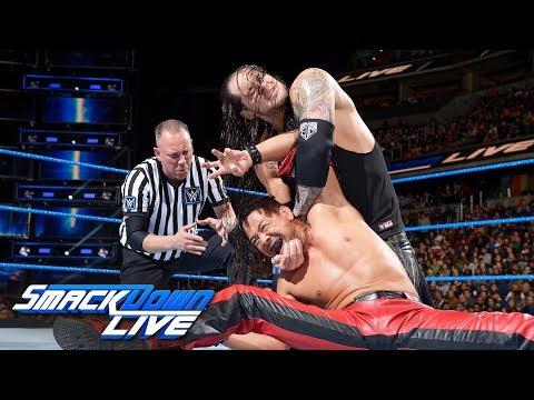Shinsuke Nakamura vs. Baron Corbin: SmackDown LIVE, Jan. 23, 2018