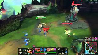 [LOL] Normal Game - Team SG vs Team Full supp