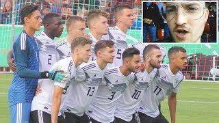 U19 Deutschland - England Stadionvlog   ViscaBarca