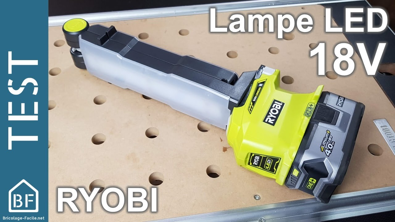 Ryobi Facile OneDe Test Led OutillageLampe Bricolage xdCBoWer