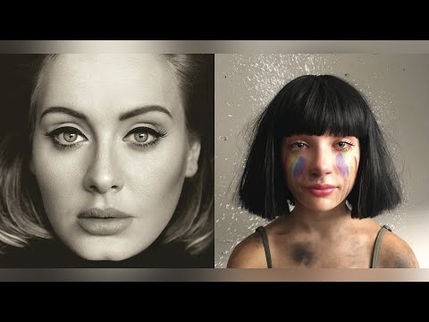 Adele, Sia - Send My Love (To The Greatest) (Mashup)