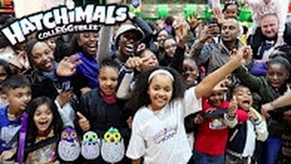 New Hatchimals Colleggtibles! Birmingham Meet And Greet Surprise Eggs For Fans Toys Andme