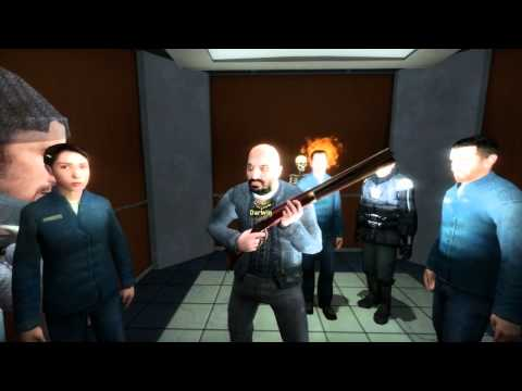 [GMOD] So a mashup DJ, a Roblox mod, a news cameraman and a music artist walk into an elevator...