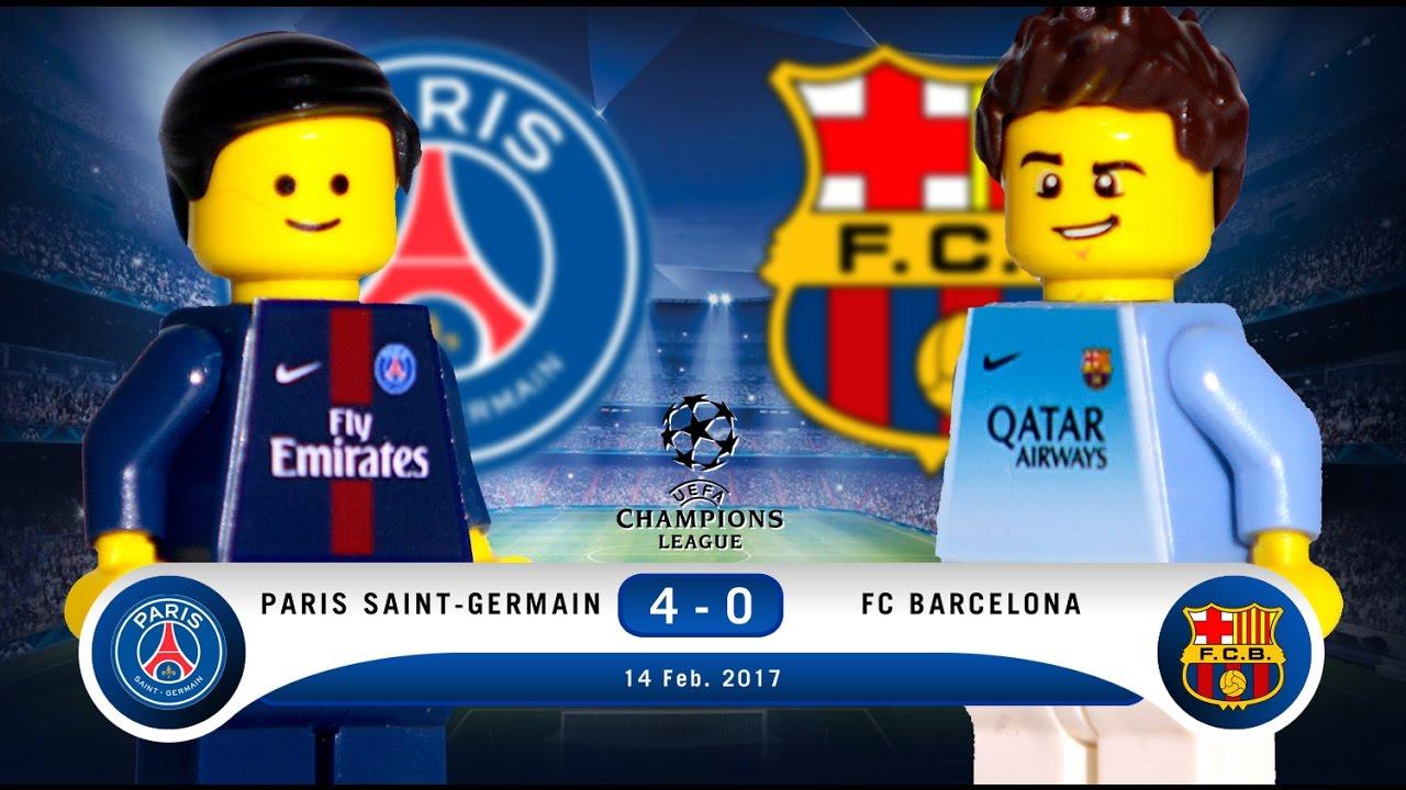 Download LEGO Paris Saint-Germain 4 - 0 FC Barcelona Champions League 2016 / 2017 Round Of 16
