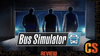 BUS SIMULATOR - PS4 REVIEW (Video Game Video Review)