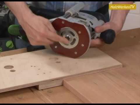 Exzentrisch: Möbelverbinder clever und fix einfräsen ...