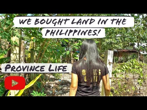 Foreigner and Filipina bought a cheap land | Philippines! | Province life | P H