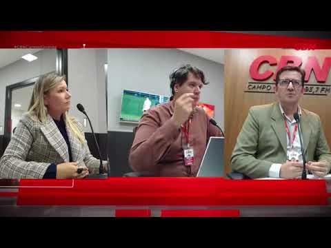 Entrevista CBN Campo Grande: diretora-presidente Águas Guariroba Lucilaine Medeiros