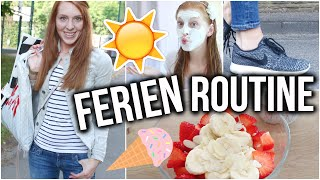 MEINE SOMMERFERIEN ROUTINE! ♡ | Gesichtsmaske, frisches Sommer Make Up, Shopping + VERLOSUNG!