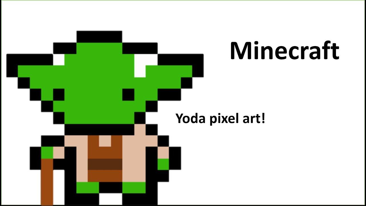 pixel art yoda