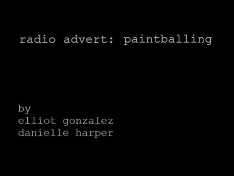 Paintballing Advert (2009)