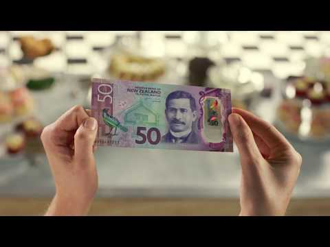 New Zealand's Brighter Money banknotes – security features - short version