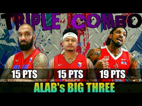 The Big 3 Powers Alab past Wolf Warriors