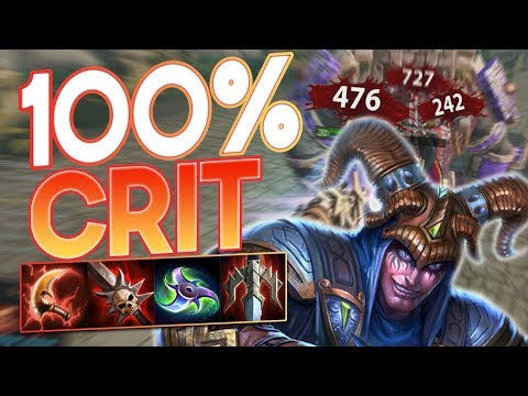 Smite: 100% Crit Loki Build - This Is One INTERESTING GAME!