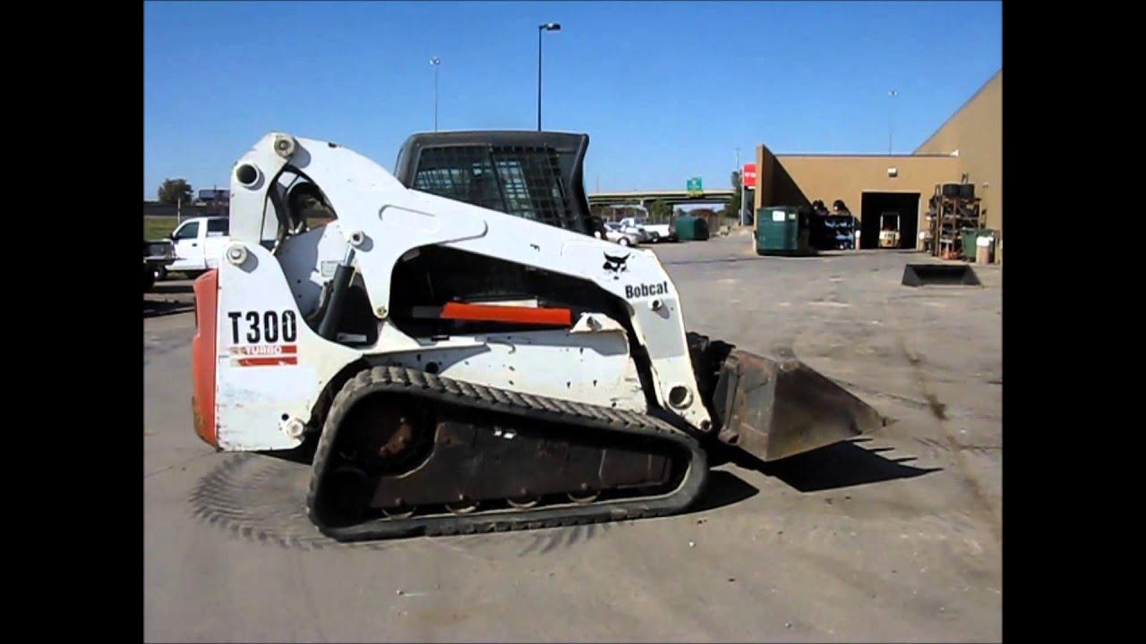 Bobcat T300 Turbo Track Skid Steer For Sale