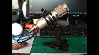 Печать на 3D принтере подставки для микрофона BM-800