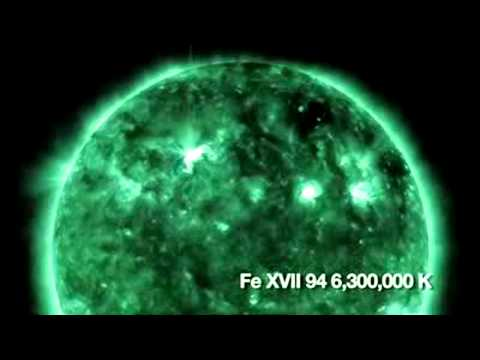Spectacular Solar Video and Sounds of the Sun