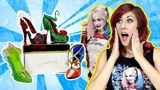 Harley Quinn Suicide Squad High Heels Collectibles with Wonder Woman Poison Ivy Mera