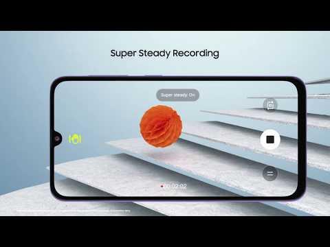 Samsung Galaxy A70s   Super Steady Video