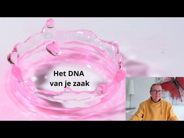 (Film 227) 152e vlog op zondag - Het DNA van je zaak