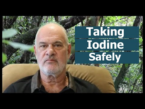 Taking Iodine Safely
